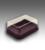 กล่องเค้ก อะเวย์กลาง - ฐานน้ำตาล (500ชุด)